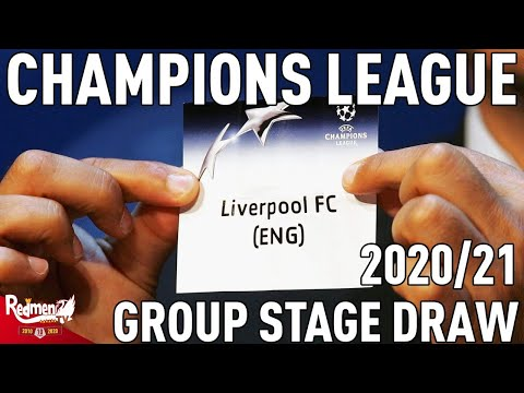 Download Uefa Champions League Group Stage Draw 20/21