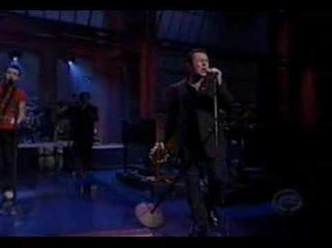 Joe Strummer- Letterman- Johnny Appleseed
