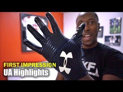 UA Highlight Football Gloves: First Impression