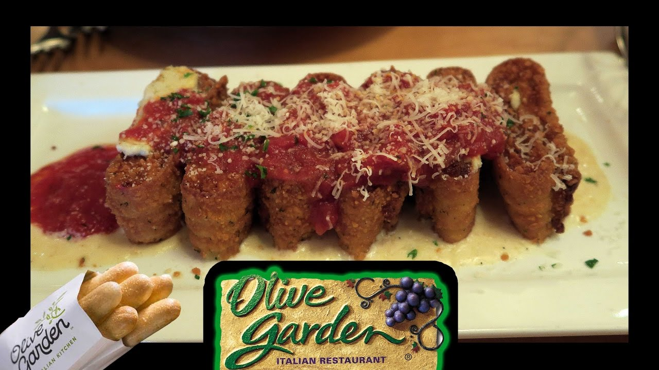 Eating At Olive Garden!! - YouTube