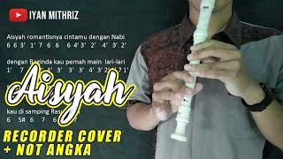 Download lagu Not Angka AISYAH ISTRI RASULULLAH   Recorder Cover Indonesia