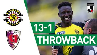 Michael Olunga scores eight goals in one game! | Kashiwa Reysol 13-1 Kyoto Sanga | 2019 | J2 League