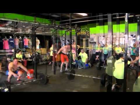 Justin Bell At 2015 Festivus Games - CrossFit Knoxville (4/18/2015)