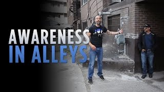 Awareness in alleys | Gun Defense Tips