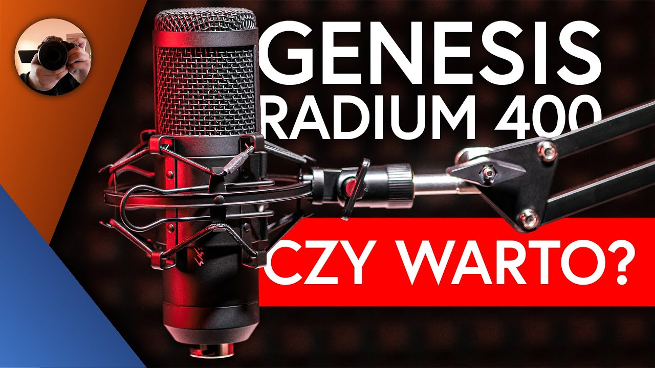 GENESIS RADIUM 400 🎤 RECENZJA - Mikrofon USB za 350PLN