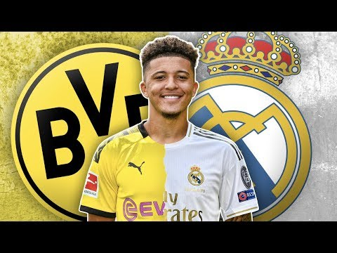 Real Madrid To Sign €100m Jadon Sancho As New Galactico?! | Euro Transfer Talk