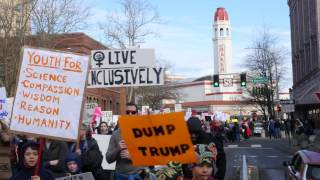 Bellingham Women's March - News Clip