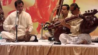 veena vocal dhrupad jugalbandi-pt.uday bhawalkar and ustad bahauddin dagar.raag maru-part 1