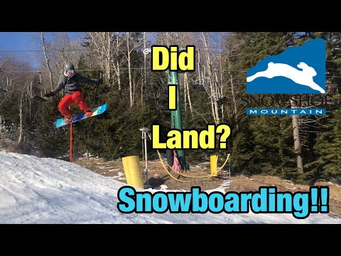 Learning New Tricks And Busting Our Butts, Snowboarding, Skiing Snowshoe West Virginia