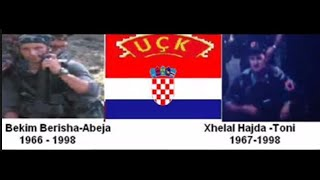 Hrvatski Heroj Bekim Berisha- Abeja   Xhelal Hajda-Toni