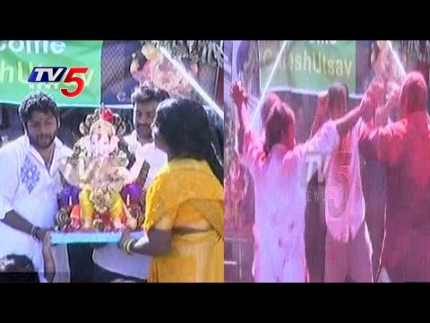 Ganesh Immersion In Jersey City | New Jersey | USA | TV5 News