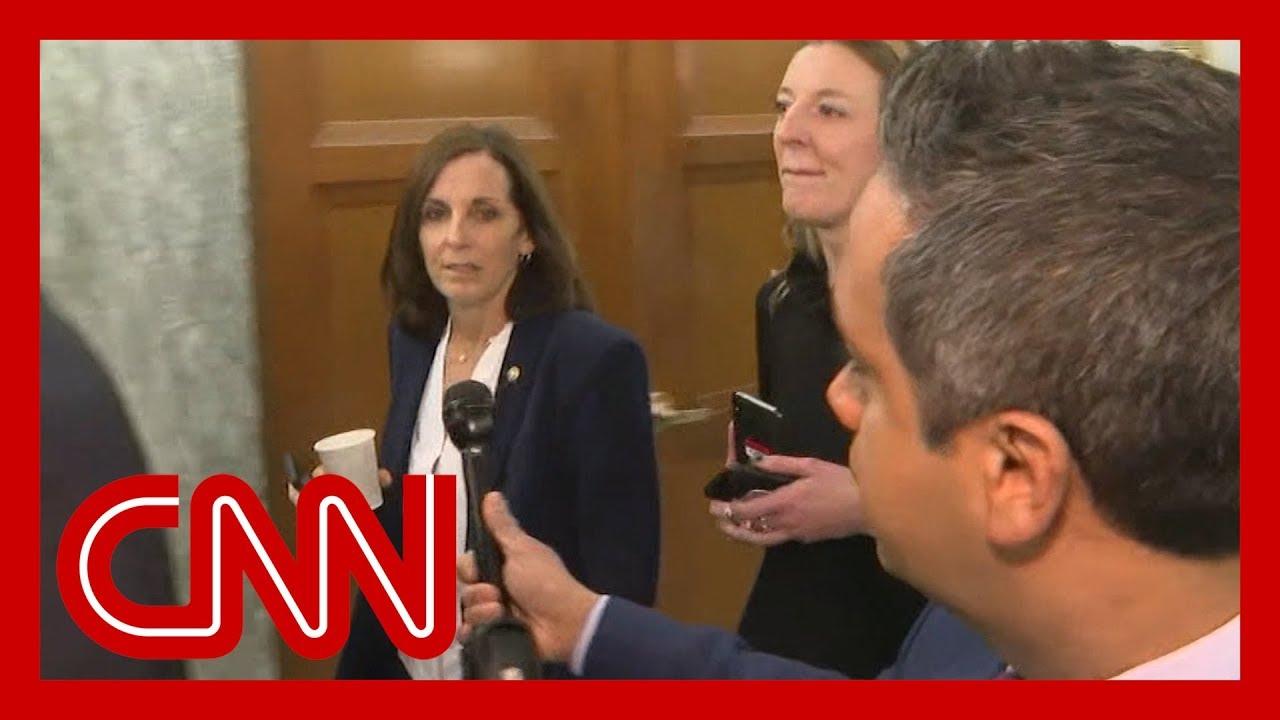 Martha McSally Calls CNN Reporter a 'Liberal Hack'