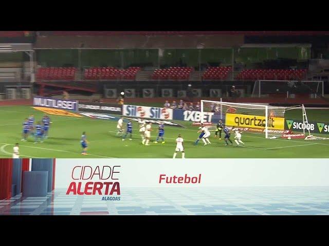 Futebol: CSA empata jogando contra o São Paulo