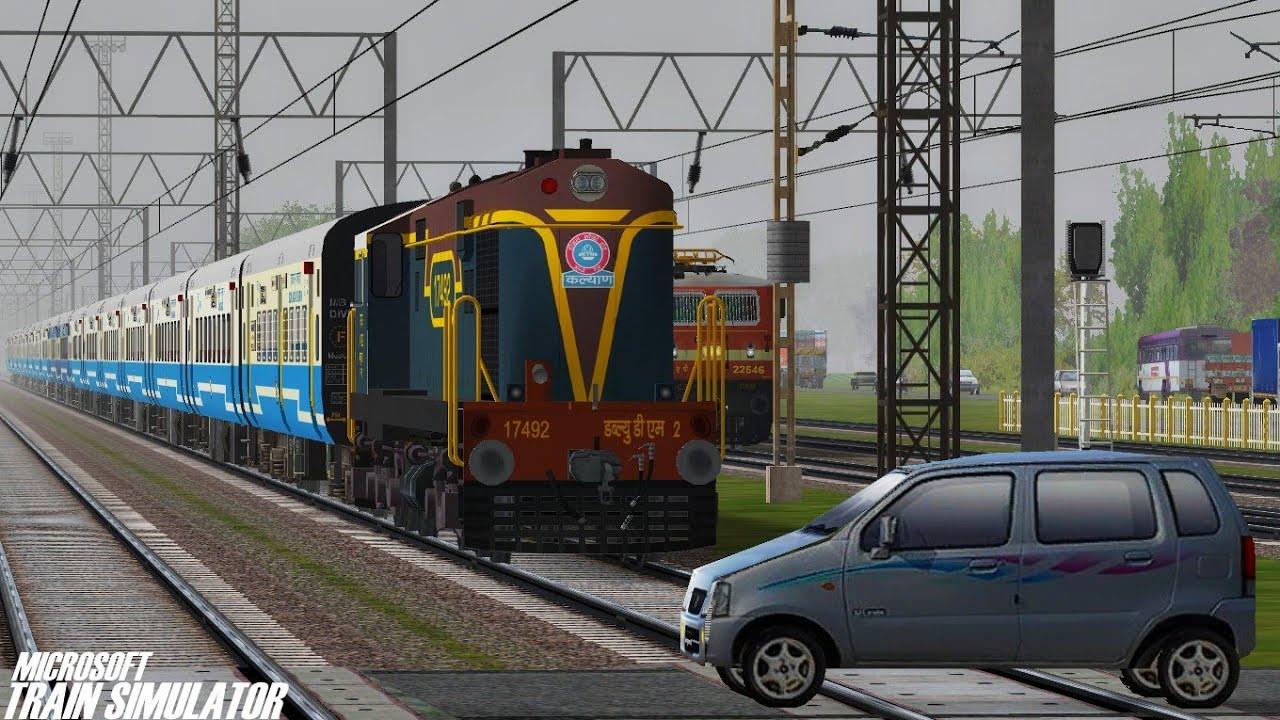 Aurangabad - Dadar Central Jan Shatabdi Express | KYN WDM2 | MSTS Open  Rails Journey Part 1 by Dewansh Chaturvedi