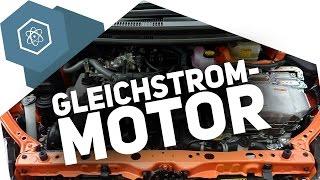 Wie funktioniert ein Gleichstrommotor?