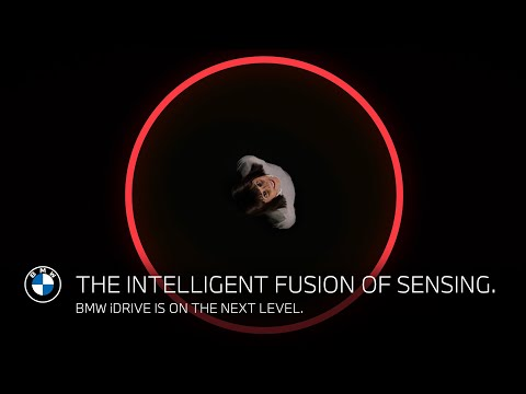 The intelligent fusion of sensing. BMW iDrive is on the next level.