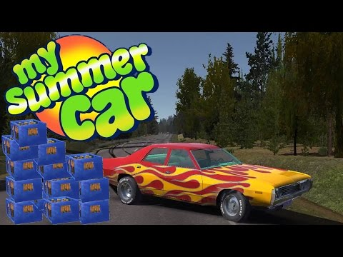 FINNISH MAN DRINKS HIMSELF TO DEATH! More Stress Testing - My Summer Car Gameplay Highlights Ep 27