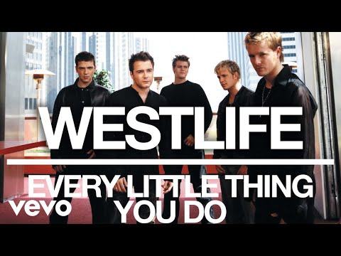 Westlife - Every Little Thing You Do (Official Audio)