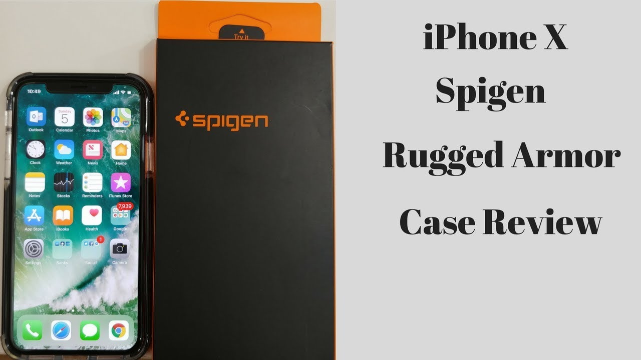 SPIGEN IPHONE X REVIEW