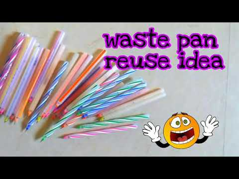Best use of waste pan reuse craft idea |cool craft idea | di