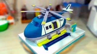 """3д Торт """"Вертолет"""" / 3D Cake """"Helicopter"""" - Я - ТОРТодел!"""