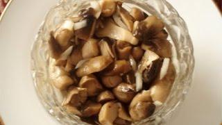 быстрый способ маринования грибов