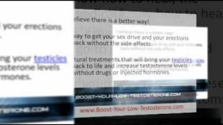 Low Testosterone Treatment - Boost Low Testosterone
