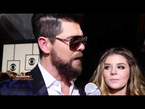 Jason Crabb at the 58th Annual Grammy Awards