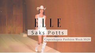 ELLE focuses on Saks Potts SS20 show for CPHFW