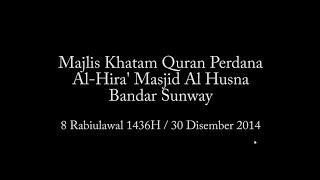 Majlis Khatam Quran Perdana, Masjid Al Husna 2014