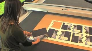 Grafitroniks - Zund - Repérage automatique des points + fraisage matériau composite type Dibond®