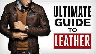 ULTIMATE Guide To Leather! Full Grain Vs Top Grain Vs Genuine Types & Grades