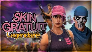 THE 2 LEGENDARY SKINS FREE GRACE A FORTNITE SAUVER THE WORLD!!