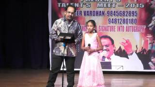 "NAGUVA NAYANA SONG WITH LIL CHAMPS ""MELODY QUEEN"""