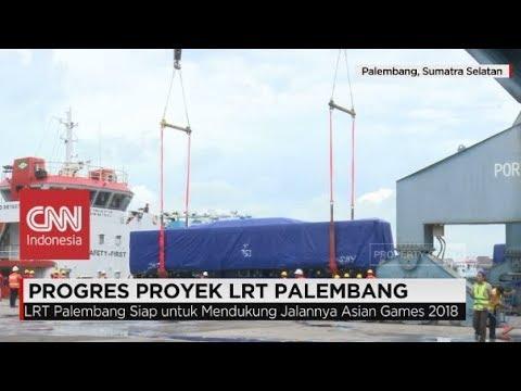 Menengok Proyek LRT Palembang