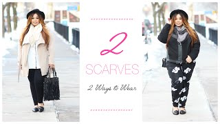 PASSIONJONESZ | 2 SCARVES 2 WAYS TO WEAR FT MOONCATS SCARVES