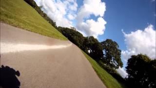 Manor Farm Hill Climb Charmouth - Suzuki TL1000S - Sept 2013