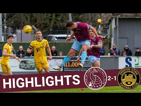 Extended Highlights : Taunton Town 2-1 Tiverton Town