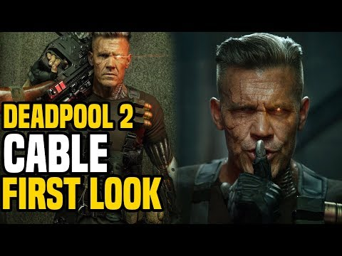 Deadpool 2: Cable Official First Look