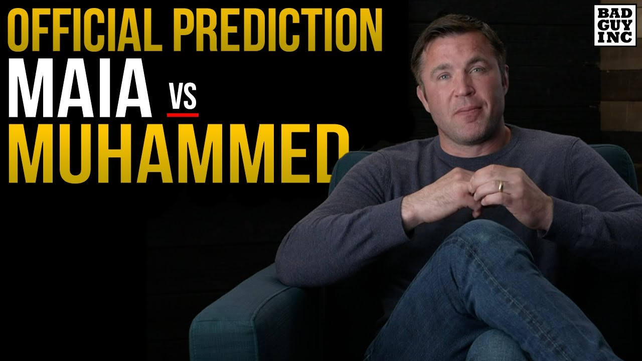 OFFICIAL PREDICTION: Demian Maia vs Belal Muhammad