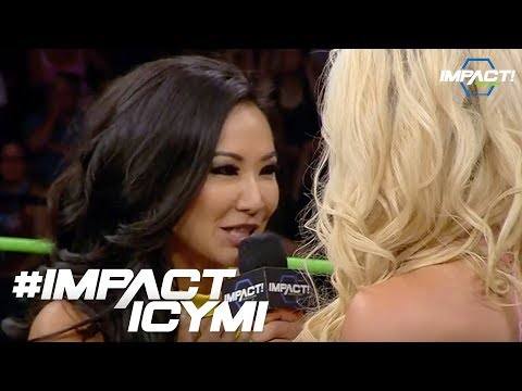 Gail Kim Slaps The Taste Out Of Taryn Terrell