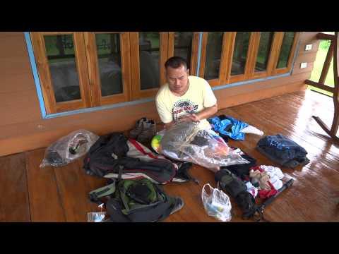 จัดกระเป๋าแบกเป้เที่ยวหน้าฝน Backpacking pack rainy season