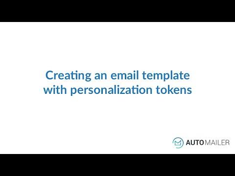 Automailer Tutorial -