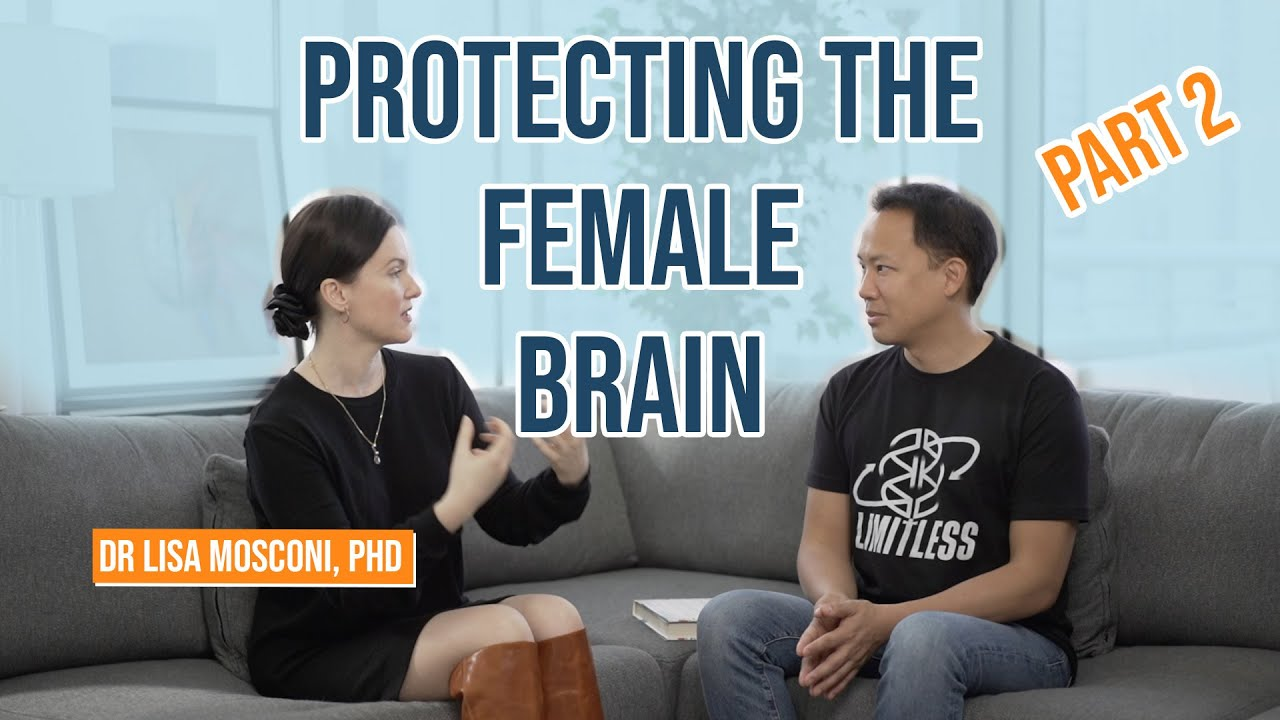 Protecting Your Brain Part 2 with Dr. Lisa Mosconi  & Jim Kwik