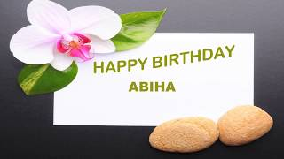 Abiha  Birthday Postcards  - Happy Birthday