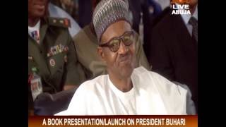 Amb  John Campbell Speech At Muhammadu Buhari's Book Launch