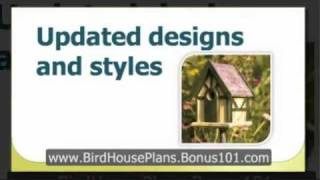 How To Make A Bird House - Building Bird Houses - Decorative Bird House