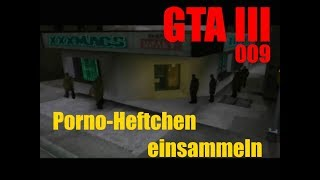 Let's Retro GTA 3 #009 - Porno-Heftchen einsammeln