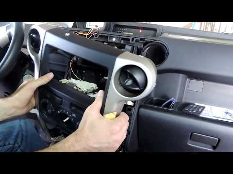 How To Remove Dash Trim And Stereo For New Install 1st Gen Scion XB 2004 2006