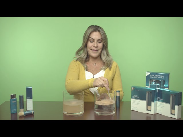 Donna Parady, Aesthetician: Sunforgettable Water Demonstration